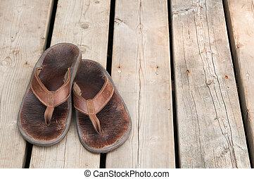 sandles, bene, portato