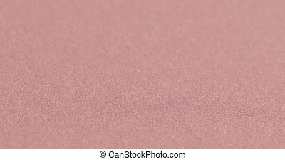 Sandpaper zero on fabric - The texture of sandpaper brown on...