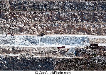 sandstein, steinbruch