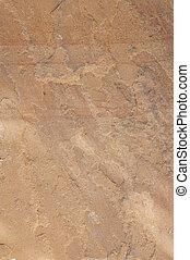 Sandstone - Background macro shot of a sandstone paving slab