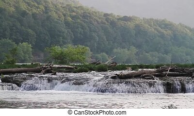 Sandstone Falls on the New River - Loop features water...