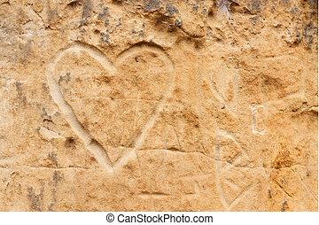 Sandstone Heart