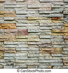 Sandstone wall background and texture