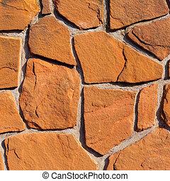 Sandstone Wall Background Texture Pattern