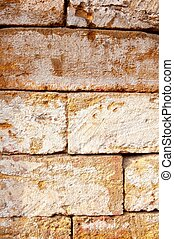 Sandstone Wall Texture for your design. Vertical Orientation.