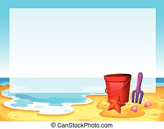 sandstrand, ansicht
