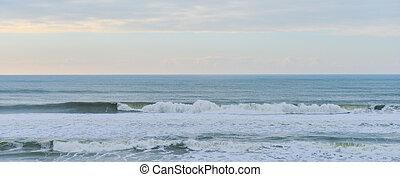 sandstrand, atlantik