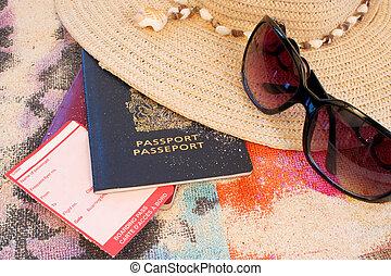 sandstrand, reise