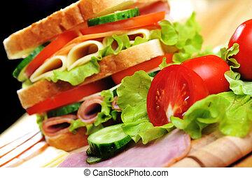 sanduíche, gostoso