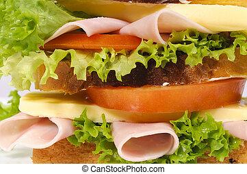 Sandwich background