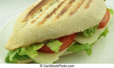 Sandwich, close up