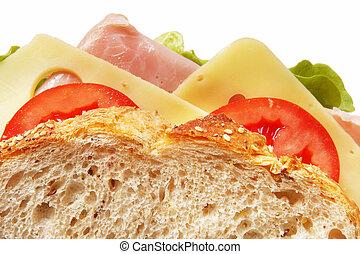 Sandwich Closeup