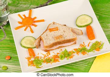 Sandwich for kids