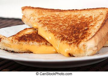 sandwich grillé fromage