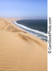 Sandwich harbour, Namibia.