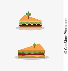 healthy food related icons image
