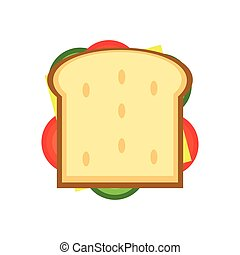 sandwich with olive icon