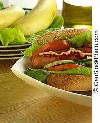 Sandwich,closeup