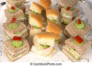 Sandwiches 2 - Sandwiches on a tray
