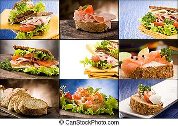 Sandwiches - Collage