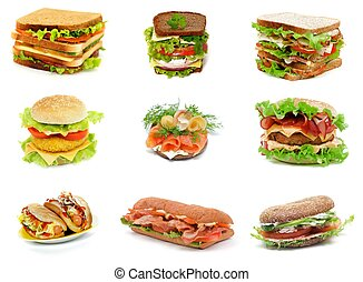 Sandwiches Collection - Collection with Ciabatta Sandwich,...