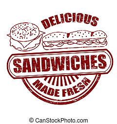 Sandwiches stamp