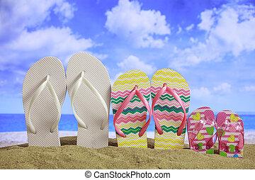 Sandy beach - Family summer vacations