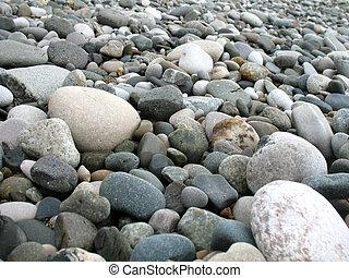 Sandy beach on the Black Sea