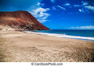 sandy beach Playa de la Tejita