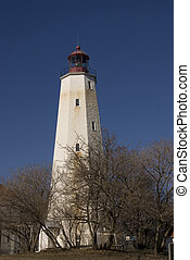 Sandy Hook Lighthouse, Gateway National Recreation Area, New Jersey