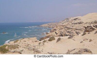 Sandy seashore, Morocco