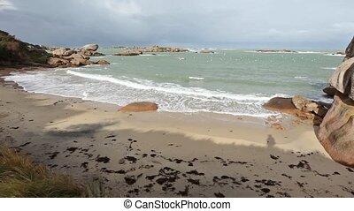 Sandy Spring Morning Beach.