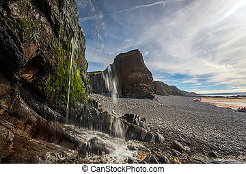 sandymouth, cornwall, england, 英國