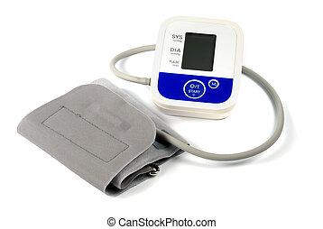 sang-pression, automatique, mètre