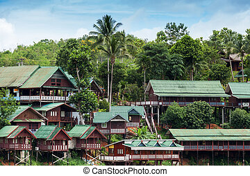 Sangkhlaburi in Thailand