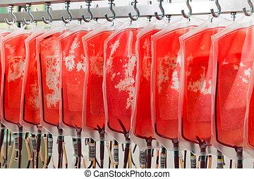 sangre, de, donante, sangre
