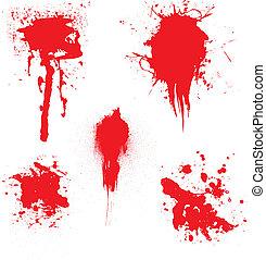 sangre, goteo
