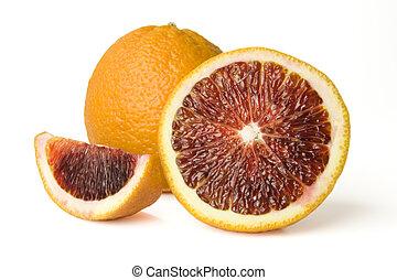 sangre, naranjas
