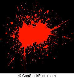sangre, splat