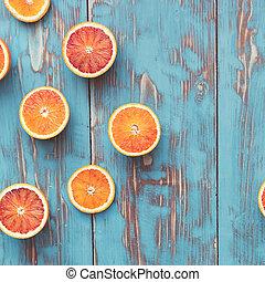 sangue, arance, dimezzato