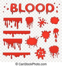 sangue, cobrança, splat