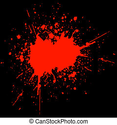 sangue, splat