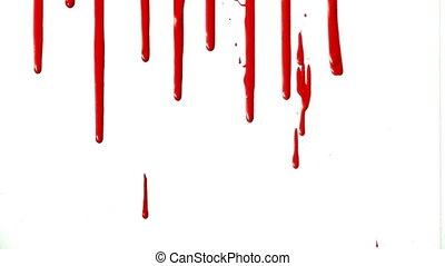 sanguine, eclabousse