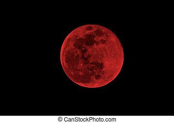 sanguine, lune