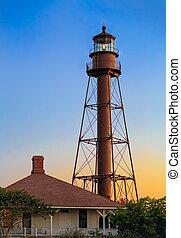 Sanibel Lighthouse Daybreak - Florida's Sanibel Island ...