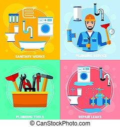 Sanitary Technician Design Concept