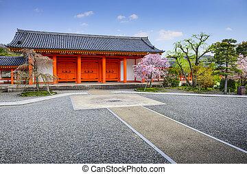 Sanjusangendo Shrine in Kyoto, Japan