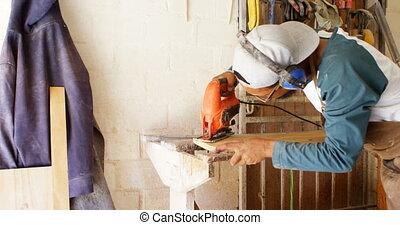 sanki wodne, drewniany, producent, maszyna, 4k, używając,...