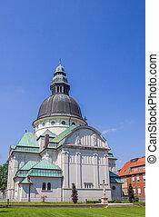 Sankt Martinus church in historical town Haren, Germany