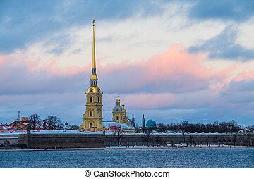 Sankt-Peterburg winter landscape - Sankt Peterburg winter ...